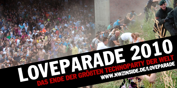 Loveparade-Unglck: Das Ende der grten Techno-Party der Welt
